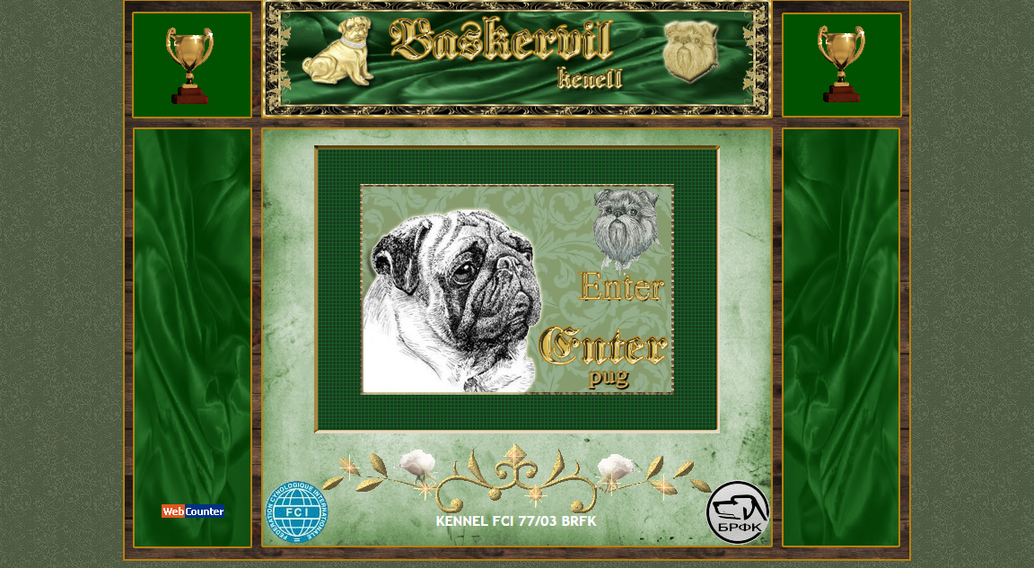 Baskervil Kennel - Pugs / Brussel Griffon - Bulgaria